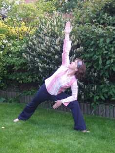 The Side Lunge Yoga Pose