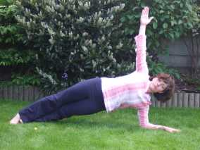 The Side Plank Yoga Pose
