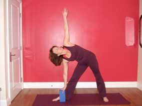 The Triangle Yoga Pose