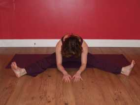 The Seated Wide Angle Forward Fold Yoga Pose