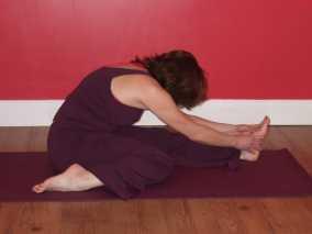 One half Leg Forward Fold | Yoga Pose