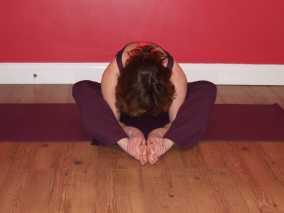 Diamond Yoga Pose