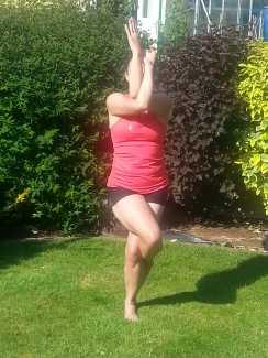 Eagle Yoga Pose